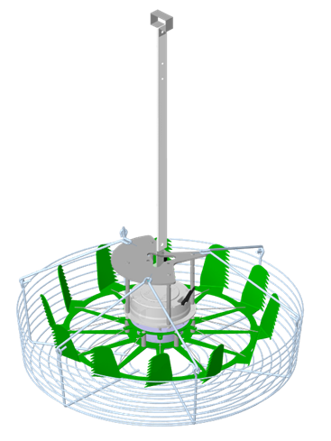 Hinovator kasventilator